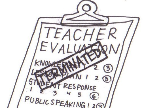 no teacher evaluations